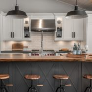 Pro's Corner | Iconic Barn Pendants Highlight Kitchen Remodel