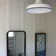 Featured Customer | Porcelain Pendant Adds Finishing Touch to New Bathhouse