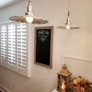 Featured Customer | Fluted Shade Pendants Add Fun to Kitchen Reno