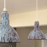 Featured Customer | Pollock-Inspired Porcelain Lights for Kitchen Reno