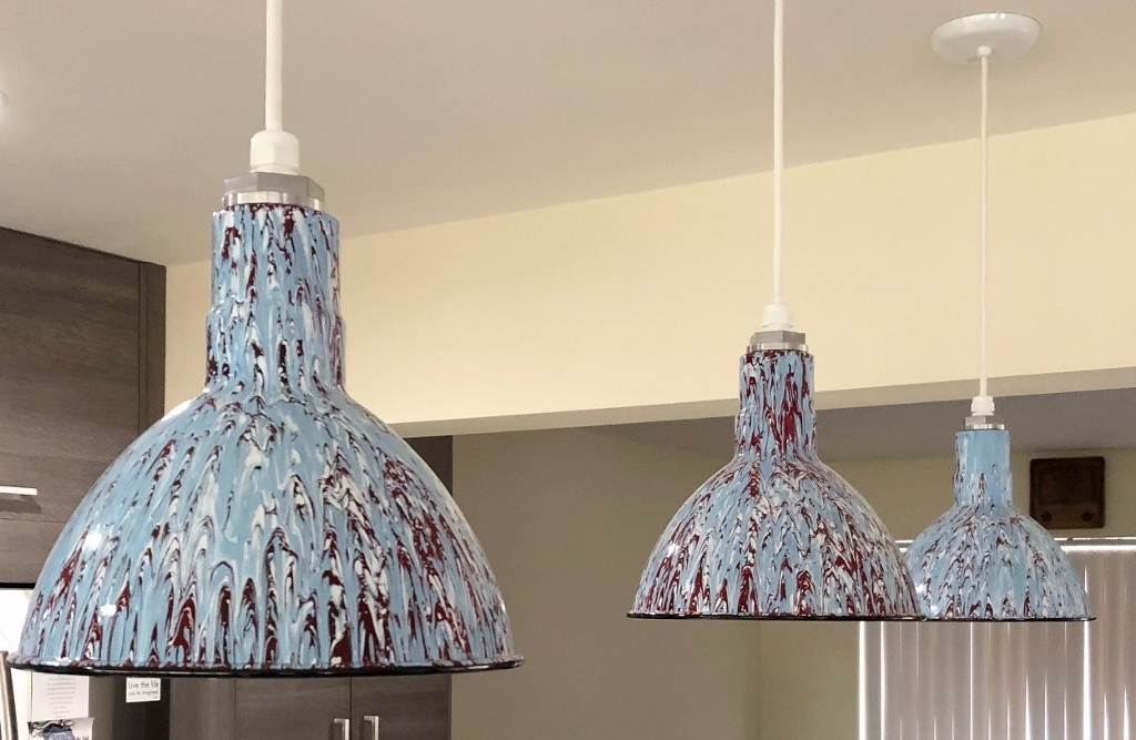 Jackson Pollock Inspired Lights Add Artistic Flair To