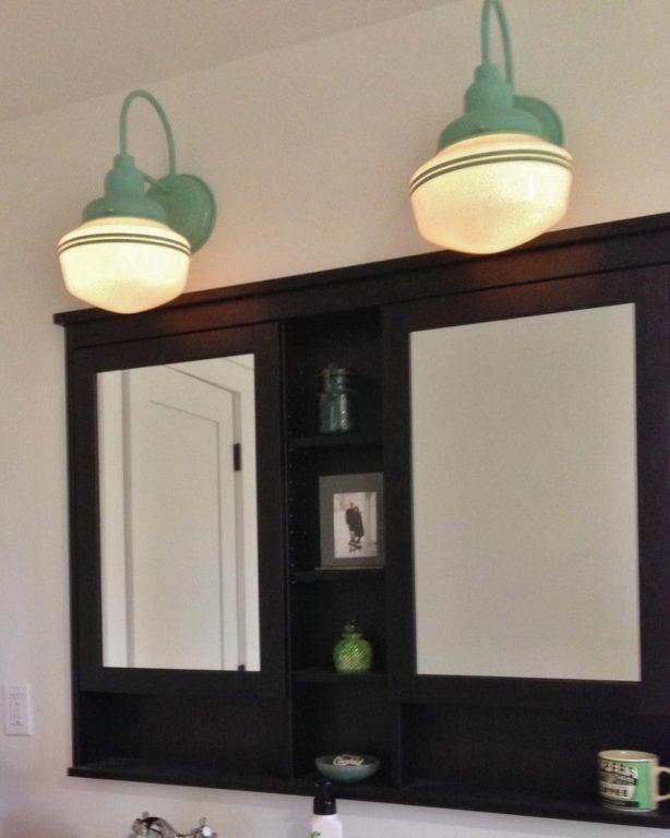 schoolhouse vanity light