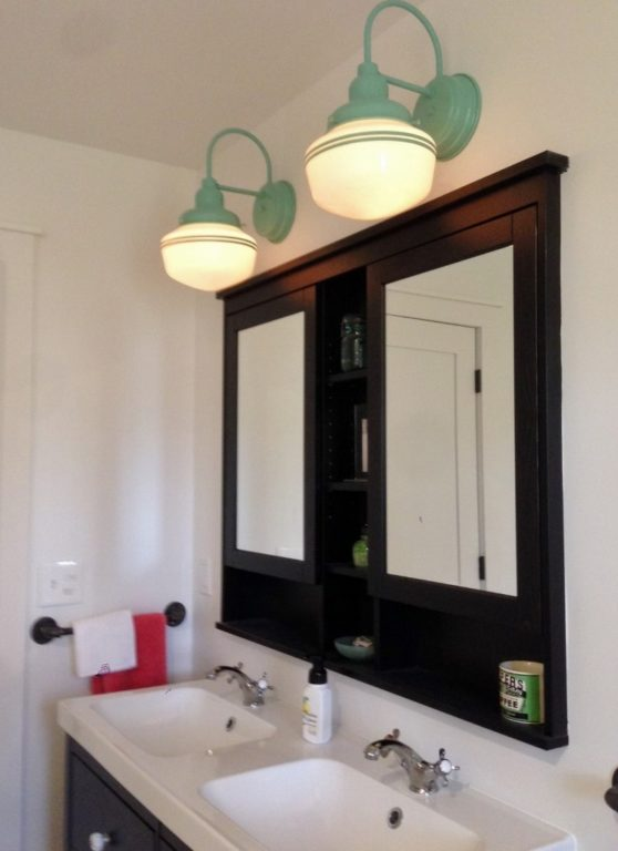schoolhouse vanity lights