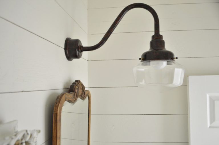 schoolhouse lighting copper