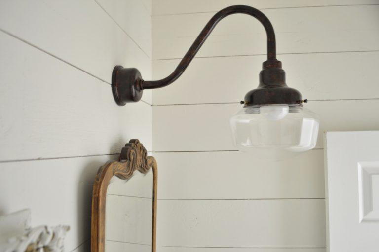 schoolhouse lighting copper