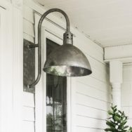 Featured Customer | Easy-to-Customize Porch Lighting for Vintage Farmhouse
