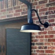 Featured Customer | Gooseneck Lights Blend Farmhouse, Craftsman Styles