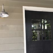 Featured Customer | Galvanized Exterior Lights for 1920s Home