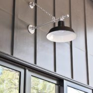 Featured Customer | Oversized Barn Lights Complement Scale of New Home