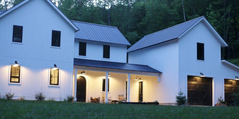 exterior barn lighting