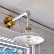 Featured Customer | Vintage Lighting Adds Retro Style to Kitchen Reno