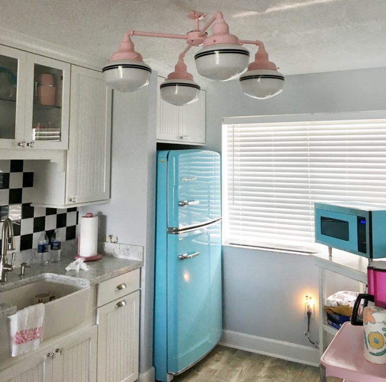 schoolhouse chandelier