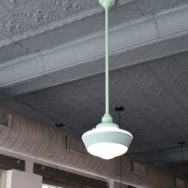 Featured Customer | Vintage-Inspired Lighting Adds Color, Retro Feel to Historic Building