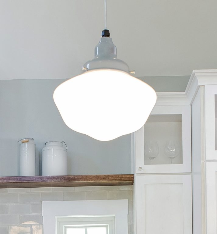 schoolhouse pendant lighting