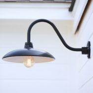 Featured Customer | Exterior Lighting Blends Farmhouse & Modern Design