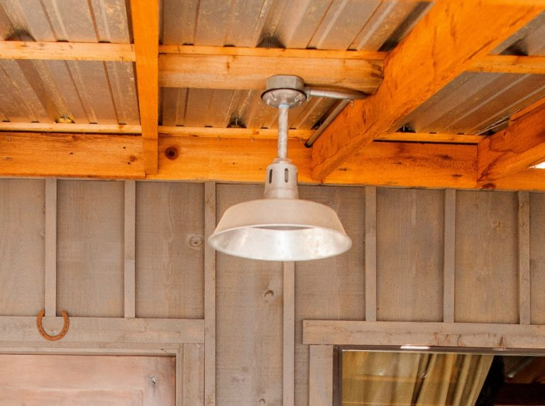 Barn Lighting Featured In Texas Hill Country Home
