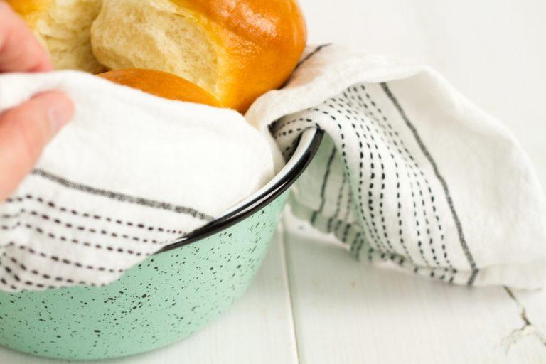 graniteware bowl