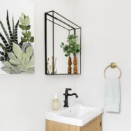 Pro's Corner | Rustic Industrial Wall Sconce for Guest Bath Makeover