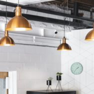 Pro's Corner | Copper Pendants Offer Flexible Style in Multi-Use Space