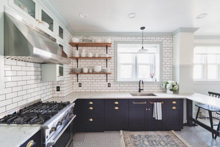 Porcelain Pendants for Vintage-Inspired Kitchen Reno ...