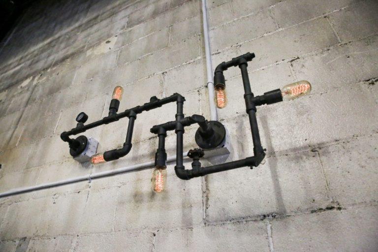 industrial wall lighting