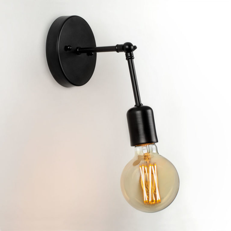wall sconce with tala bulb