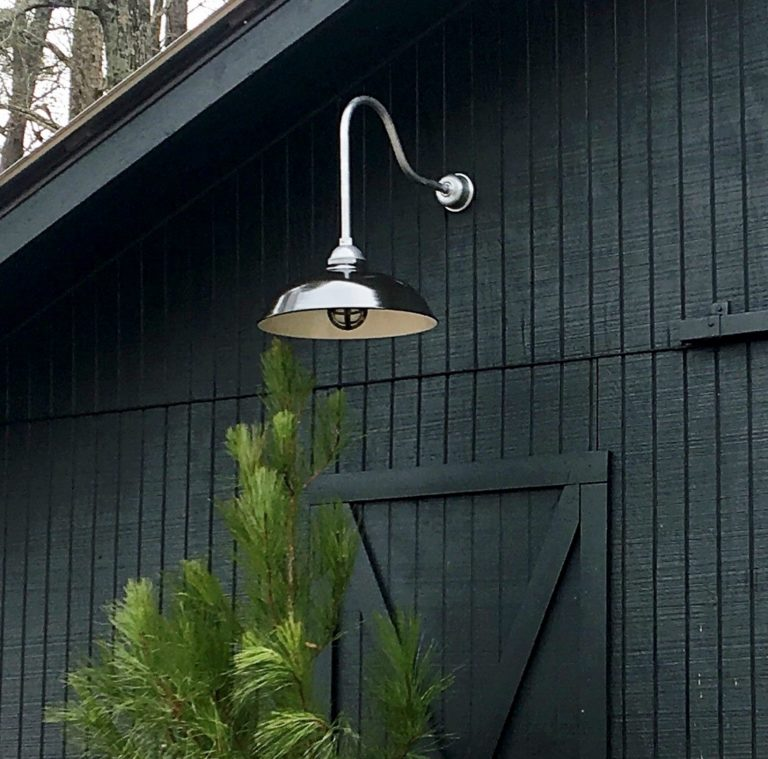 vintage industrial gooseneck light
