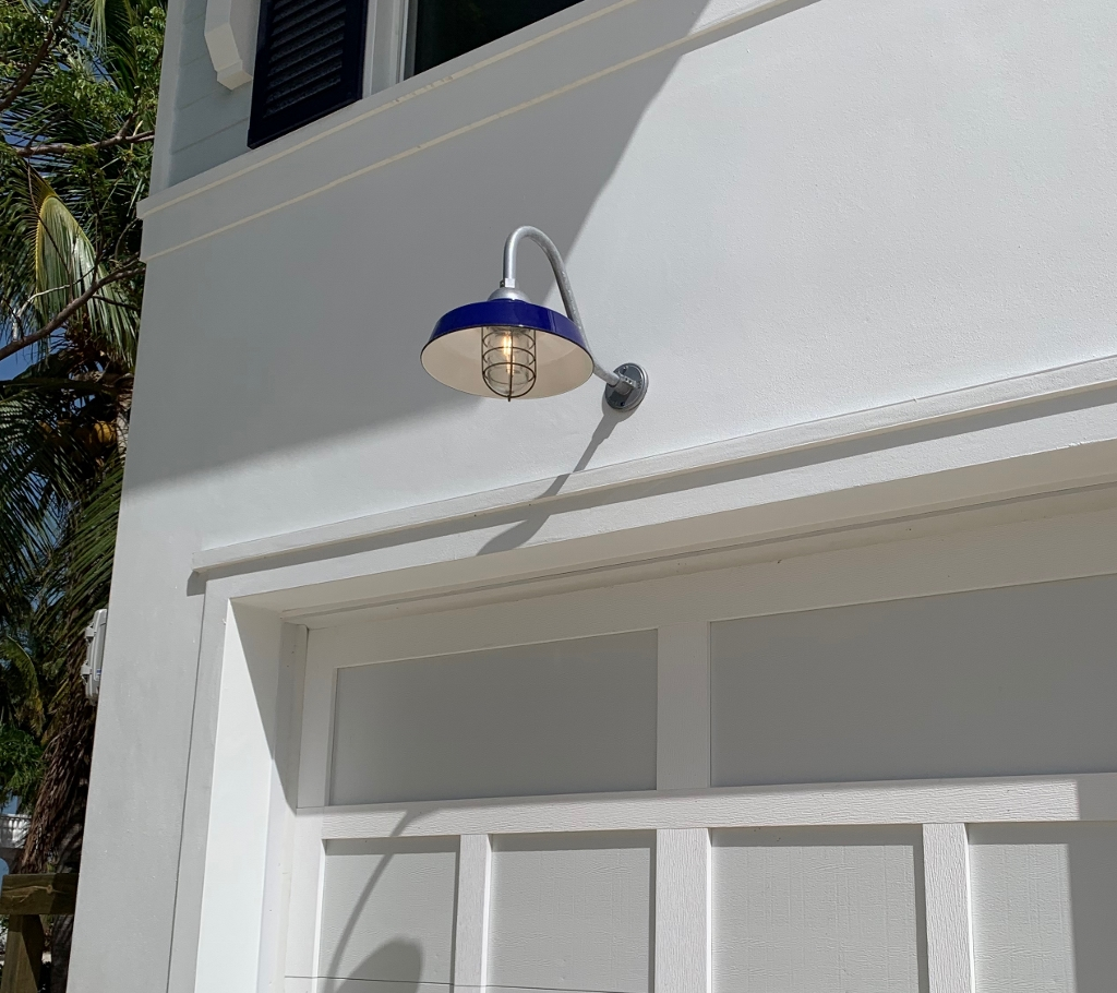 outdoor gooseneck lighting