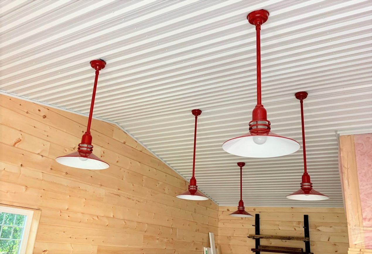 garage workshop lighting