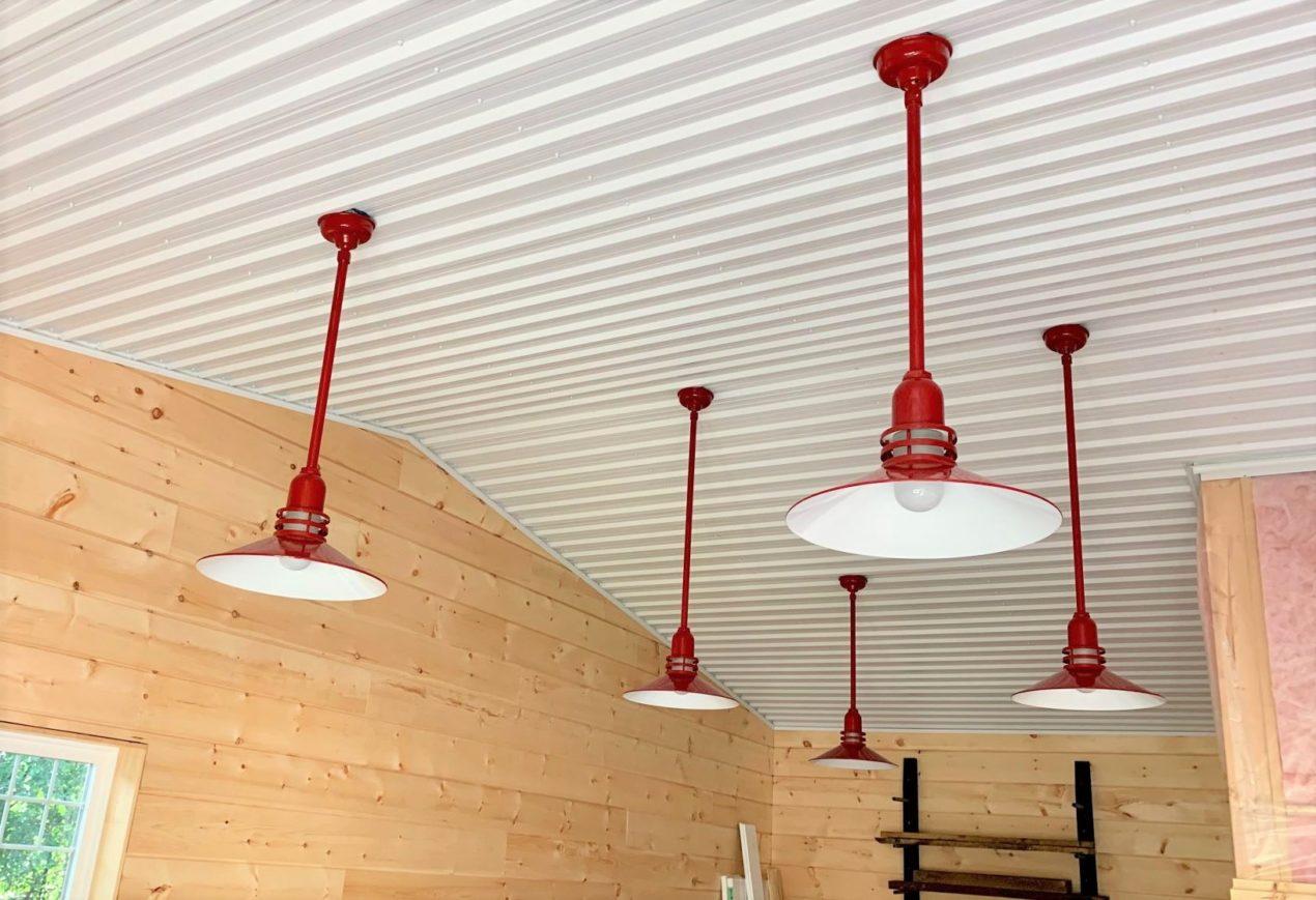 garage workshop lighting