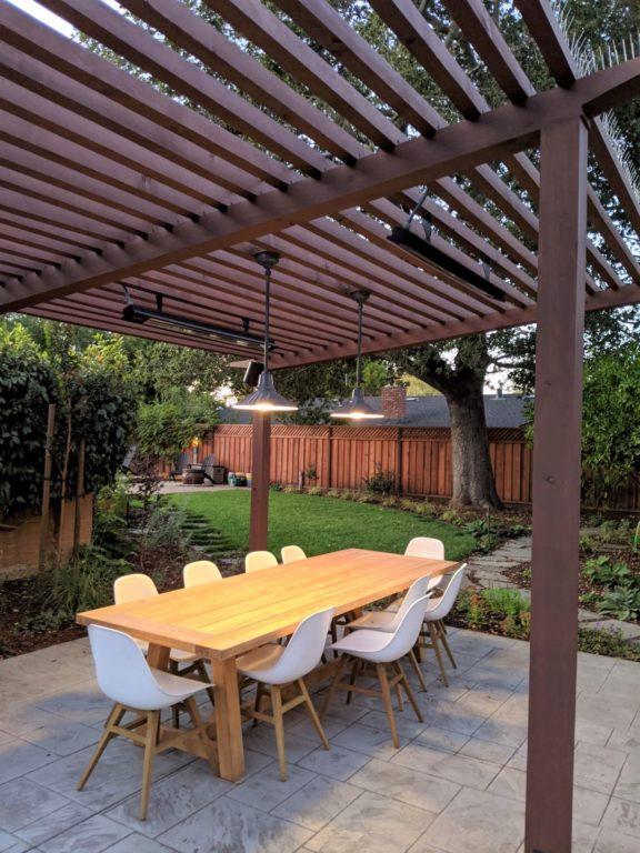 Wet Rated Pendant Lighting Brightens, Outdoor Hanging Lights For Pergola